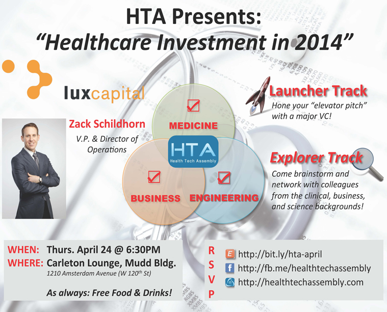 HTA Presents - Healthcare Investment in 2014