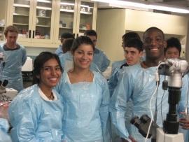 Biomedical Engineering subject studied in high school